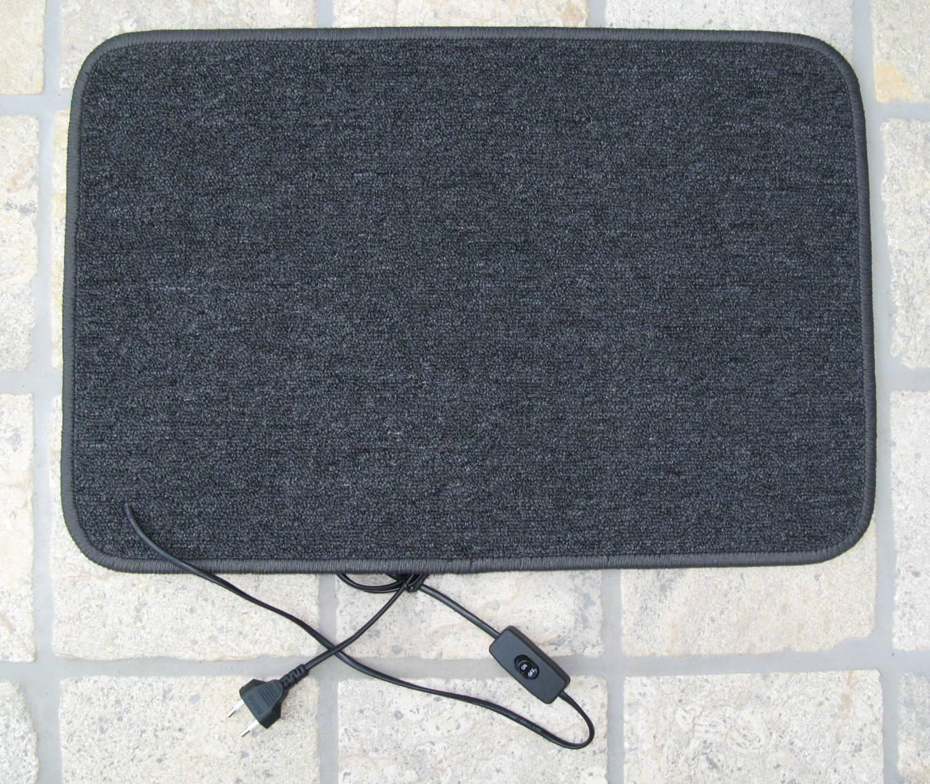 elektrischer heizteppich teppichheizung elektrische heizbare trppichunterlage heizunterlage. Black Bedroom Furniture Sets. Home Design Ideas